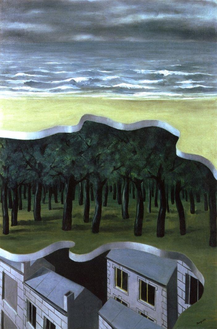 Popular Panorama~Rene Magritte   Lone Quixote   #ReneMagritte…