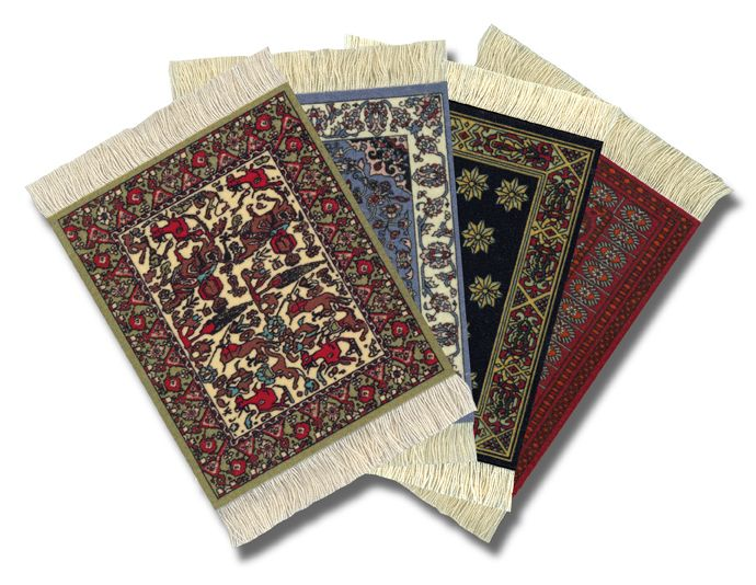 Set of coaster rugs