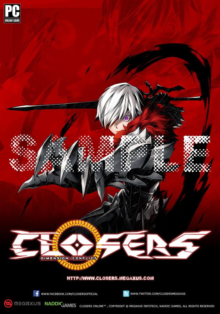 Character Seha Normal Sample Indonesia Server Poster Splended/Brilliant of Darkness Edition Size 35 x 50 cm NOT FOR SALE