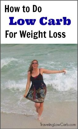How to do low carb for weight loss easily  | TravelingLowCarb.com - Low Carb Die...