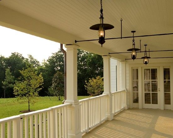 Wooden Farm House Porch Railing Design Pictures Remodel Decor And Ideas