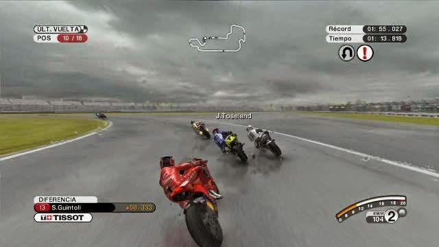 MotoGP 08 PC Games Gameplay