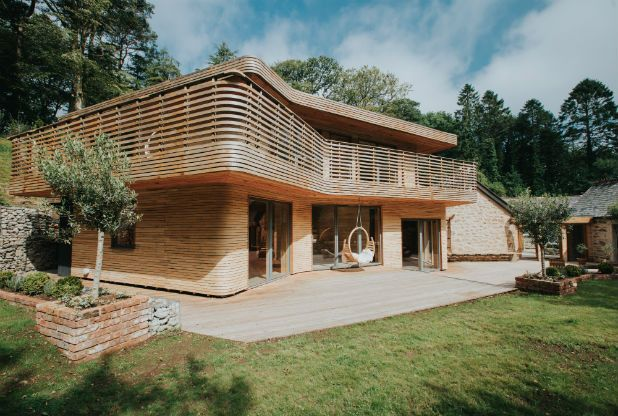 Absolutely loved this timber house from Grand Designs. One of my favourites ever from the entire series.