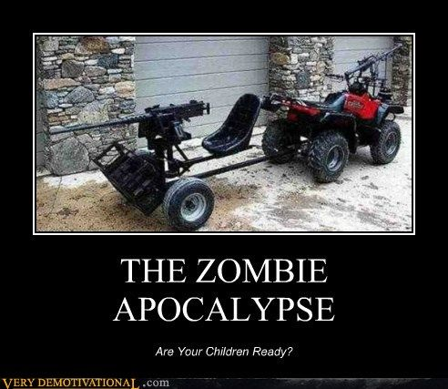 The zombies are coming. Hell yeah!
