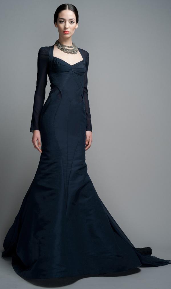 Zac Posen Midnight Evening Gown   Clothes for Gals   Pinterest   Zac ...
