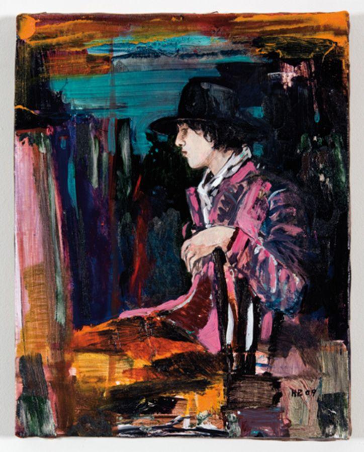 hernan bas art | Hernan Bas »Violets are gone«, 2009