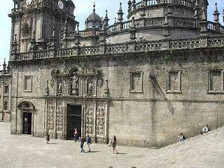 Pórtico Real de la Quintana. Catedral de Santiago de Compostela