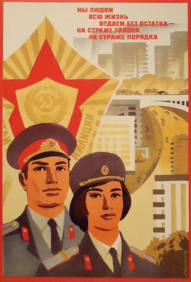 Affiches de la police soviétique - Posters of Soviet Police