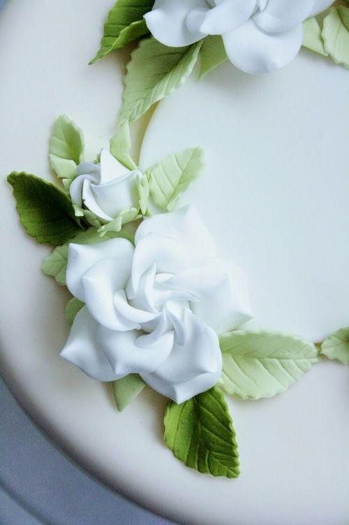 Gardenia Sugar Flowers by Penelope d'Arcy Graham