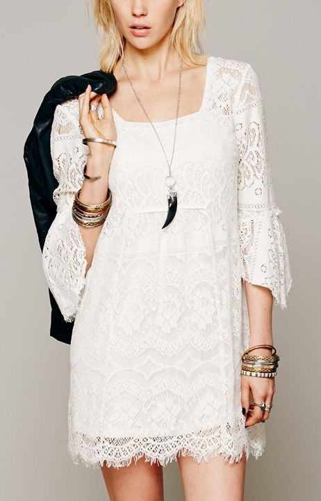 Floral Lace Crochet Prom Casual Party Cocktail Evening Beach Dress