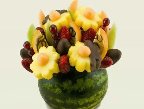 Φτιάξτε μπουκέτο με φρούτα και λαχανικά - βίντεο - - MeaColpa