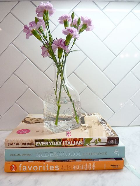 I love the herring bone pattern of the tiles - I'm doing this in mine!