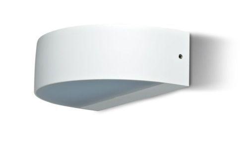 Details zu LED Wandleuchte Wandlampe Uldis weiß IP54 2x4,5 W 3000K - grimm küchen rastatt