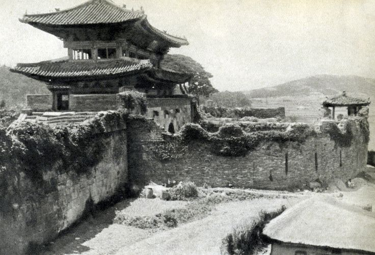 수원 장안문 - 77년 전 한반도 풍경(사진) Suwon Fortress 1938