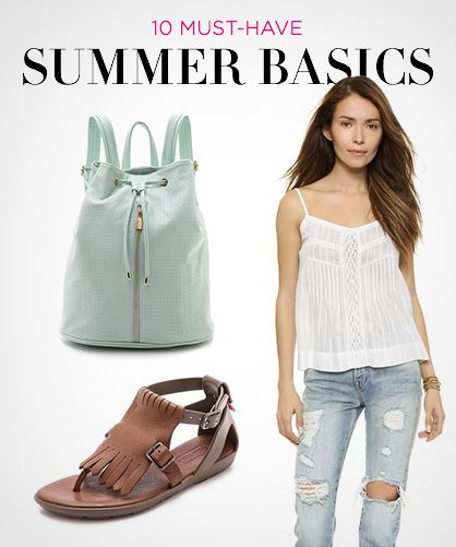 10 Must-Have Basics for Summer