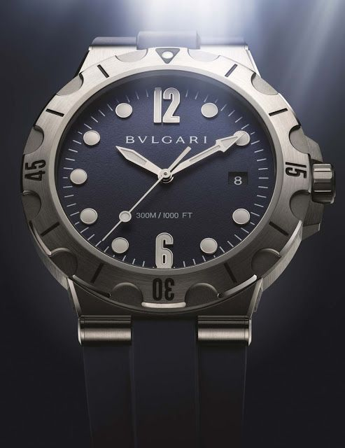 Bulgari - Diagono Scuba 2016 | Time and Watches