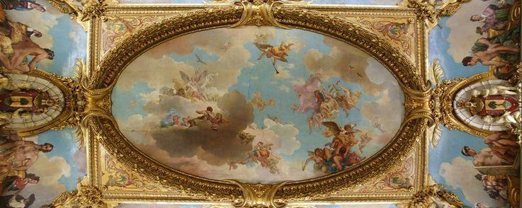 Palacio de los duques de Santoña - Detalle techo