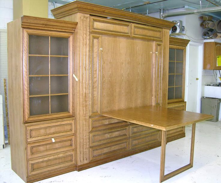7 best murphy bed images on pinterest bed ideas home for Plantation desk plans