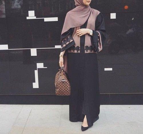 hijab, modest, and abaya -kuva