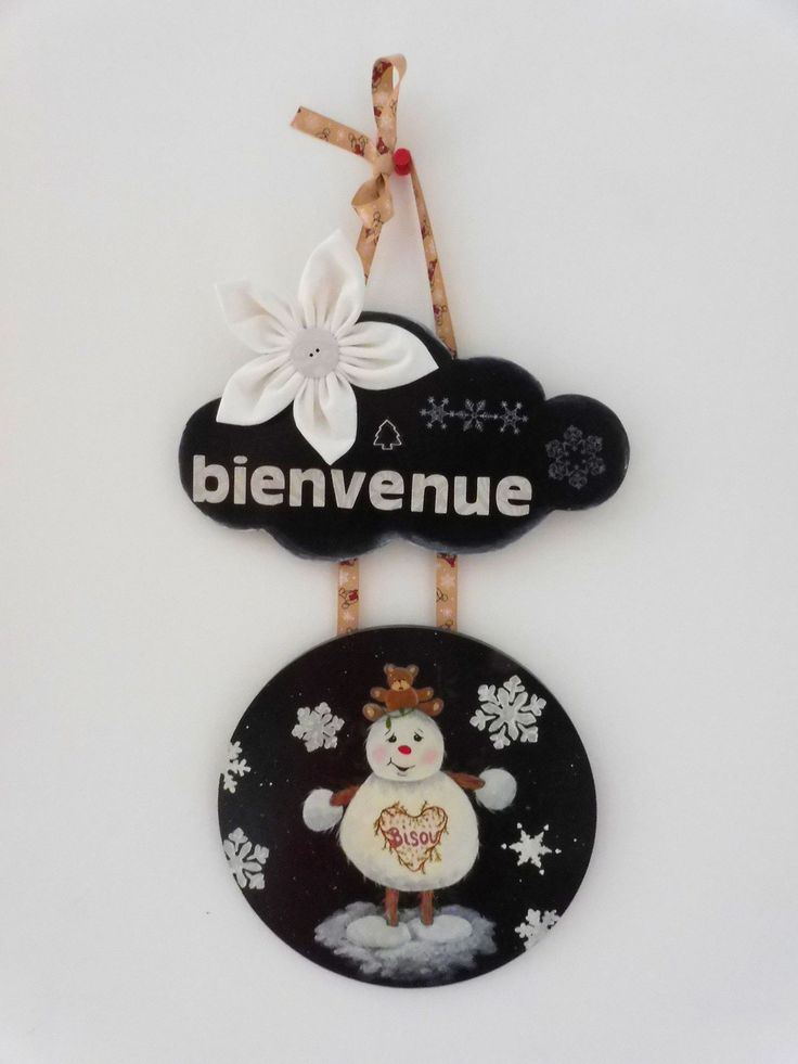 1000 id es sur le th me porte bonhomme de neige sur for Decoration porte noel ecole