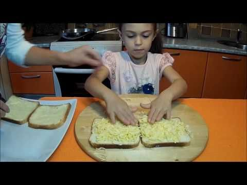 Жаренные бутерброды с сыром