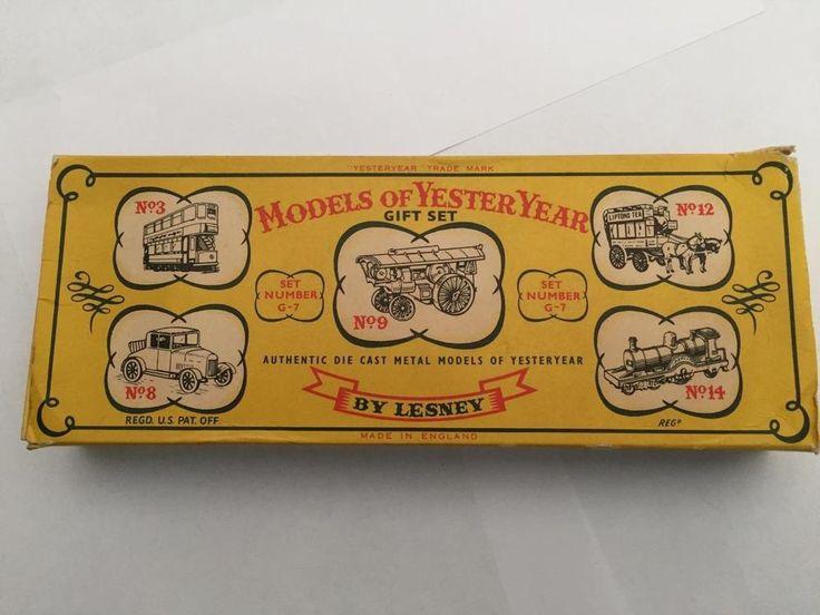 Lesney Models of Yesteryear G-7 Gift Set Boxed