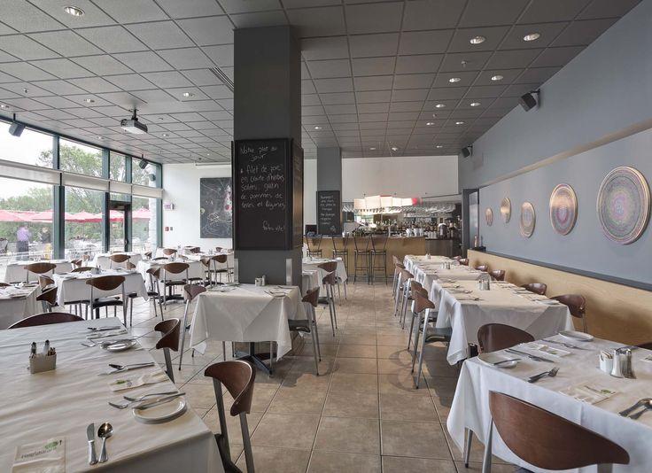 La salle manger du restaurant du mus e national des for Salle a manger montreal restaurant
