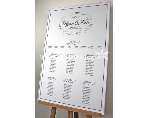 Best Modern Wedding Table Plan Images On   Wedding