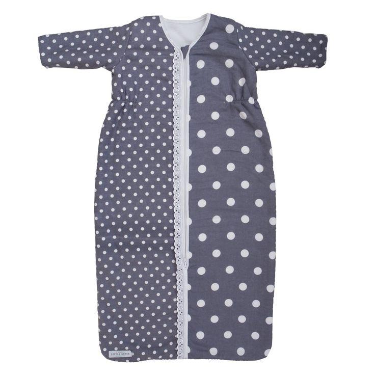 Little Dutch slaapzak winter grijs stip uit de online shop van Babyaccessoires.eu. In allerlei kleuren en prints.