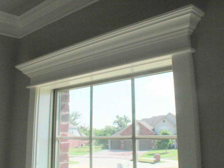 Window Crown Molding Ideas