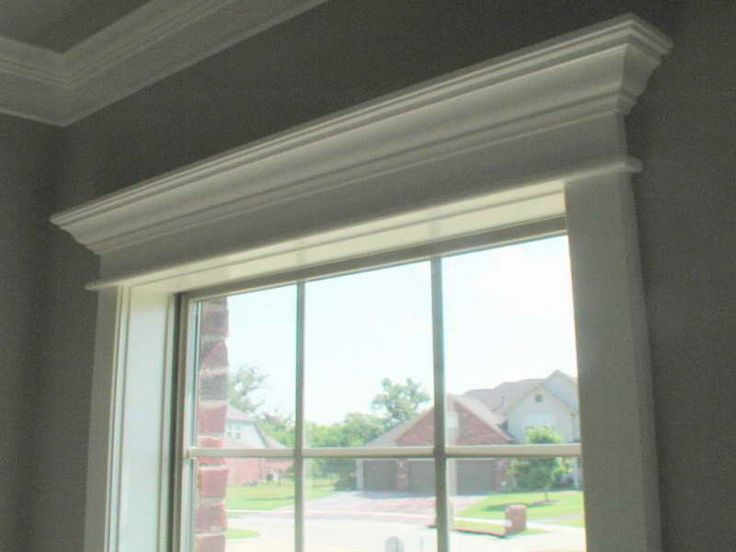 Window Crown Molding Ideas