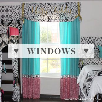 Charming Donu0027t Forget To Deck Those Dorm Room Windows! Add Bling! Dorm Room Part 30