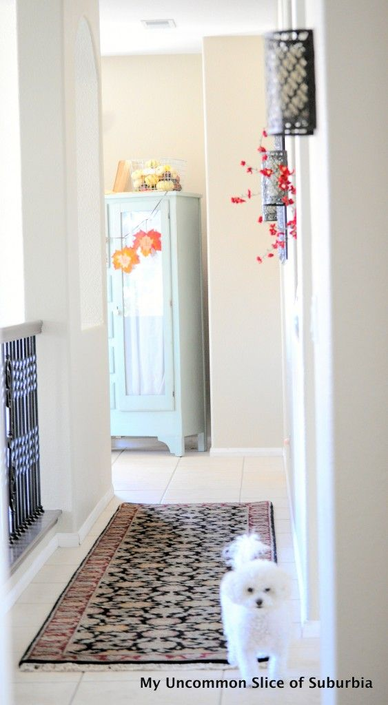 Decorating a long hallway, tips and advice
