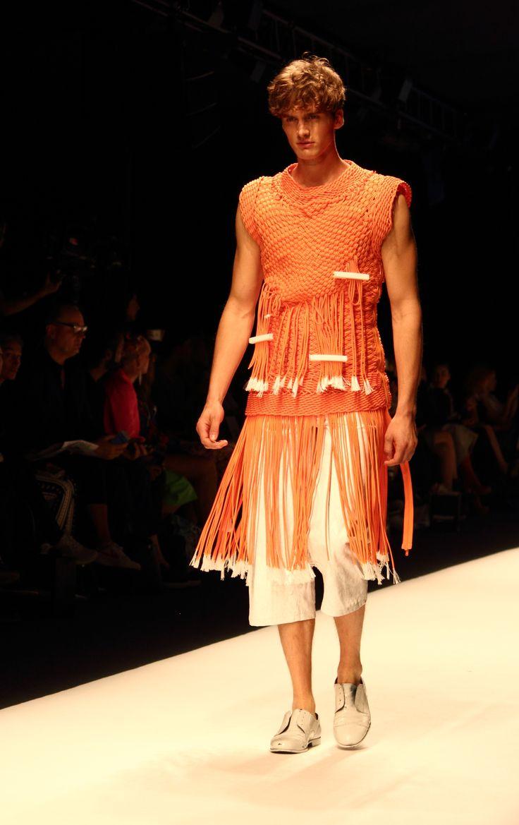 Stockholm Fashion Week 2014. Designer: Per Hansson. Photo: Sampo Axelsson