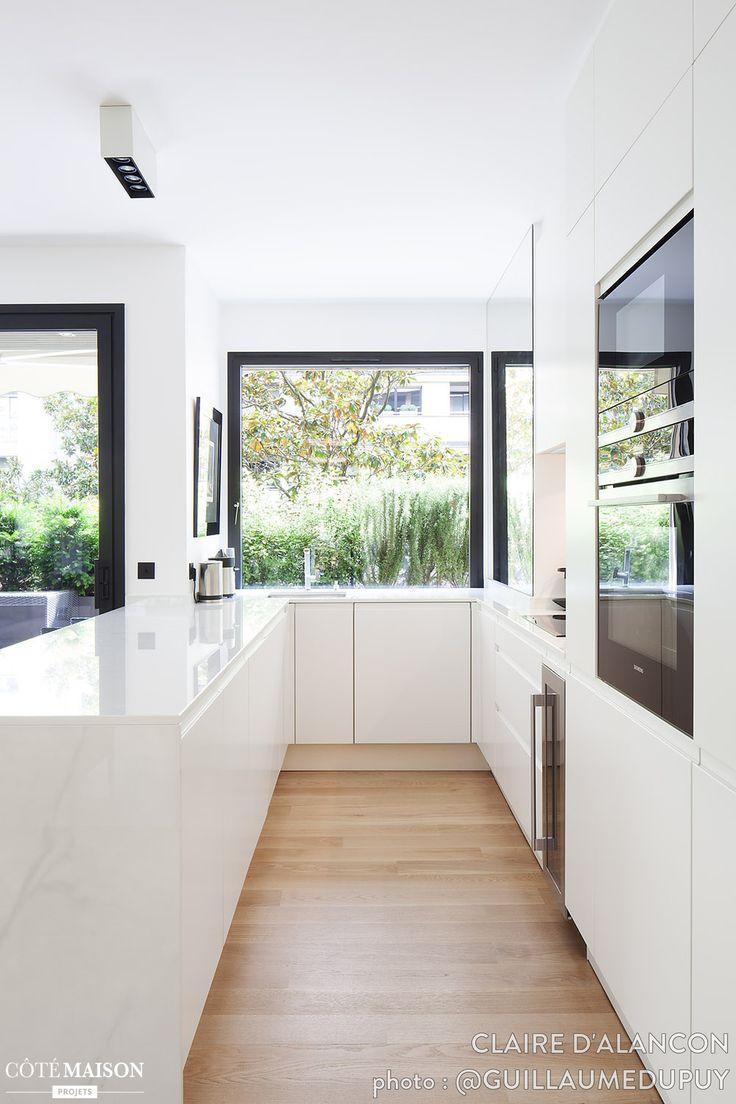 Rénovation totale d'un appartement contemporain, Claire d'Alançon - Côté Maison