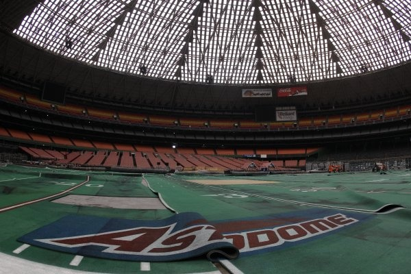 The Astrodome may once have been called the 8th Wonder of the World, but it's now a sad shell.