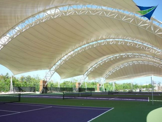 Fabric Canopy Structures At Baseball : Best images about ea textile on pinterest