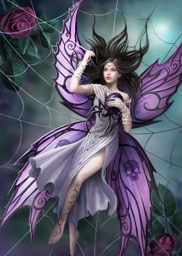 Dark Fairy Background Wallpapers