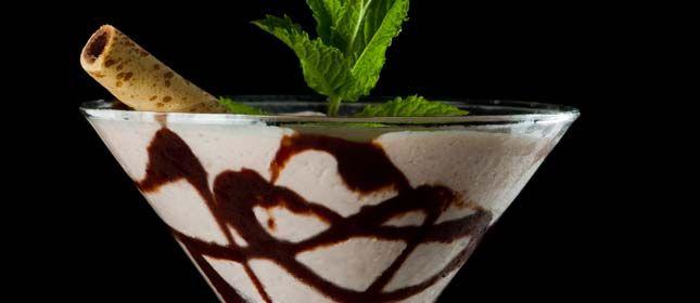 Martini de fresa y cacao - Cocina y Vino