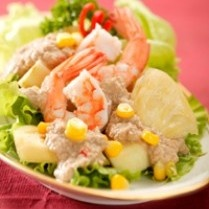 SALAD BUMBU RUJAK CINGUR http://www.sajiansedap.com/mobile/detail/2278/salad-bumbu-rujak-cingur