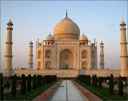 Taj Mahal, Agra India...so many cool things to see when I go to India...