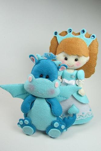 A princesa Carlota e o dragão Gugui (Princess Carlota and Gugui, the dragon)