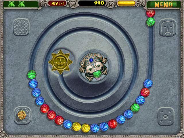 Zuma Deluxe - Gaming Wonderland