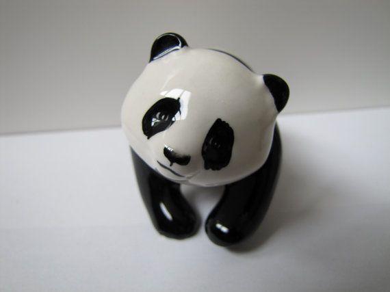 Vintage Beswick of England Panda Figurine by KLBVintageWares