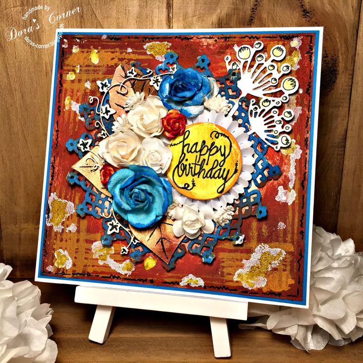 happy birthday card rust media