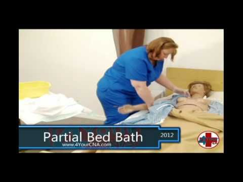 Cna Video For Partial Bed Bath