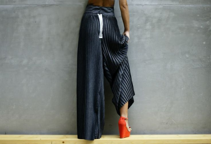 "Oversized pleated Pants named ""Pleate me"" from ""Mix&Match"" Autumn Collection!"