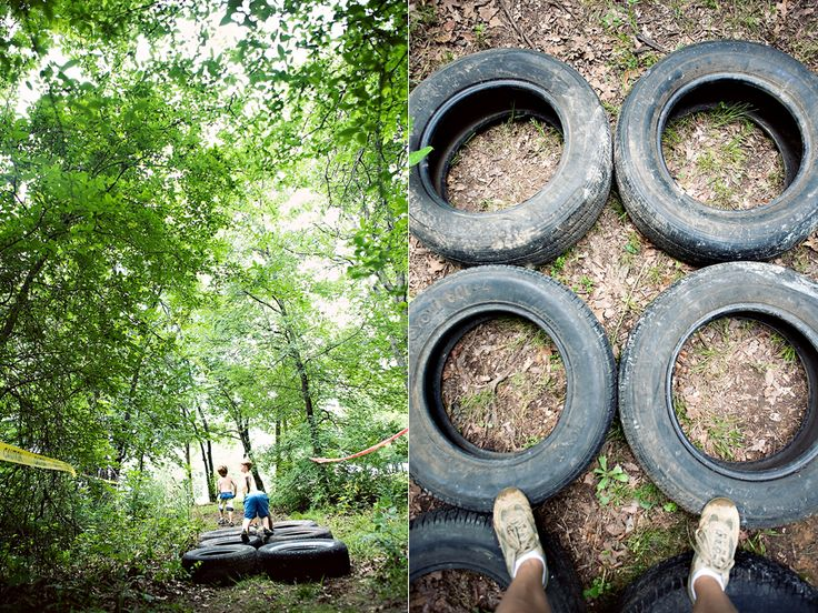 Obstacle course b-day party....for boys!