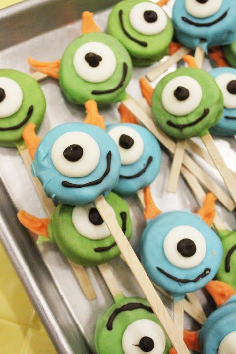 McBrides: Little Monster Birthday Party