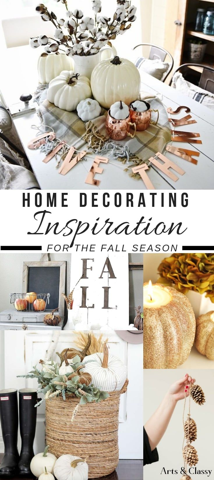 Home Decorating Inspiration For The Fall Season